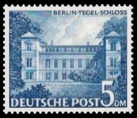 5 DM Briefmarke: Berliner Bauten