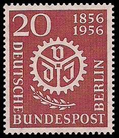20 Pf Briefmarke: 100 Jahre Verein Deutscher Ingenieure