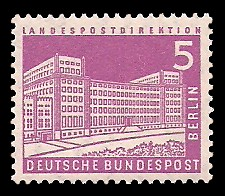 5 Pf Briefmarke: Berliner Bauten
