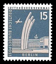 15 Pf Briefmarke: Berliner Bauten