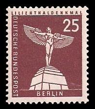 25 Pf Briefmarke: Berliner Bauten