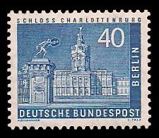 40 Pf Briefmarke: Berliner Bauten