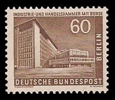 60 Pf Briefmarke: Berliner Bauten