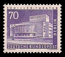 70 Pf Briefmarke: Berliner Bauten