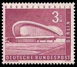3 DM Briefmarke: Berliner Bauten