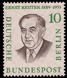 10 Pf Briefmarke: Berühmte Männer Berlins