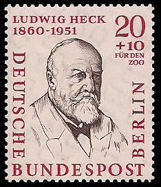 20 + 10 Pf Briefmarke: Berühmte Männer Berlins
