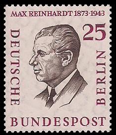 25 Pf Briefmarke: Berühmte Männer Berlins
