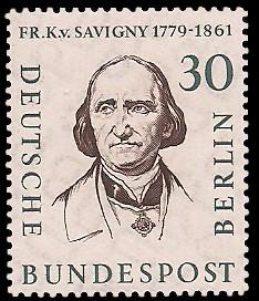 30 Pf Briefmarke: Berühmte Männer Berlins