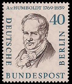 40 Pf Briefmarke: Berühmte Männer Berlins