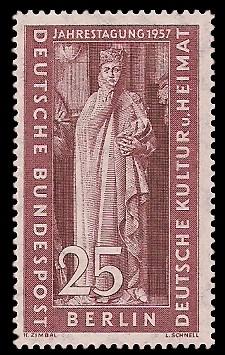 25 Pf Briefmarke: Ostdeutscher Kulturrat