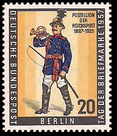 20 Pf Briefmarke: Tag der Briefmarke