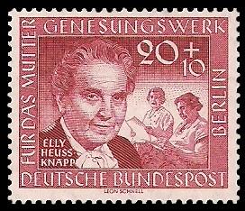 20 + 10 Pf Briefmarke: Müttergenesungswerk
