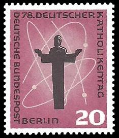 20 Pf Briefmarke: 78. Deutscher Katholikentag