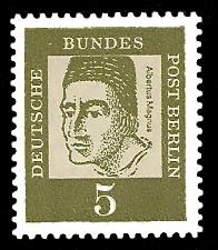 5 Pf Briefmarke: Bedeutende Deutsche