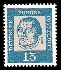 15 Pf Briefmarke: Bedeutende Deutsche