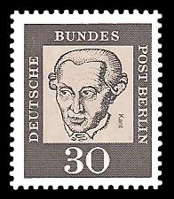 30 Pf Briefmarke: Bedeutende Deutsche