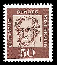 50 Pf Briefmarke: Bedeutende Deutsche