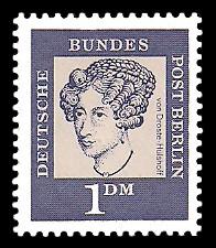 1 DM Briefmarke: Bedeutende Deutsche