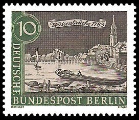 Stadtansicht Alt Berlin Briefmarke Berlin