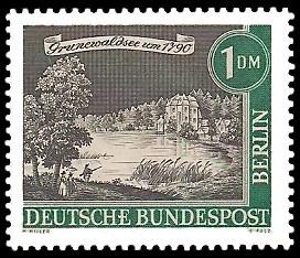 1 DM Briefmarke: Stadtansicht Alt-Berlin