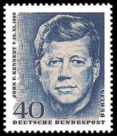 40 Pf Briefmarke: 1.Todestag John F.Kennedy