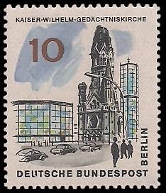 10 Pf Briefmarke: Neues Berlin