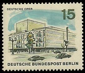 15 Pf Briefmarke: Neues Berlin