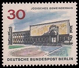 30 Pf Briefmarke: Neues Berlin