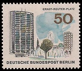 50 Pf Briefmarke: Neues Berlin