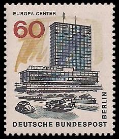 60 Pf Briefmarke: Neues Berlin