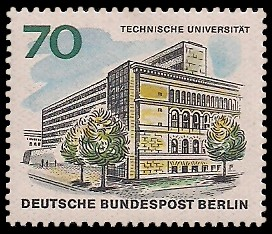 70 Pf Briefmarke: Neues Berlin