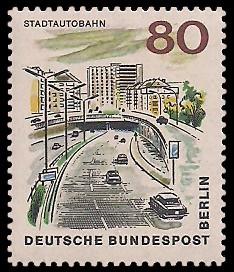 80 Pf Briefmarke: Neues Berlin