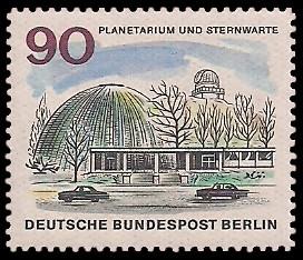 90 Pf Briefmarke: Neues Berlin