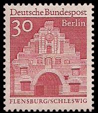 30 Pf Briefmarke: Deutsche Bauwerke