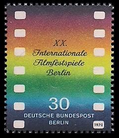 30 Pf Briefmarke: Internationale Filmfestspiele Berlin