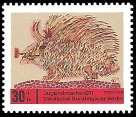 30 + 15 Pf Briefmarke: Jugendmarke 1971
