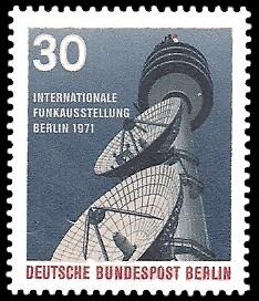 30 Pf Briefmarke: Internationale Funkausstellung