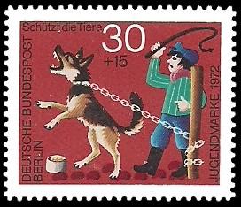 30 + 15 Pf Briefmarke: Jugendmarke 1972