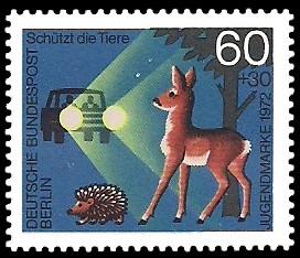 60 + 30 Pf Briefmarke: Jugendmarke 1972