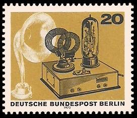 20 Pf Briefmarke: 50 Jahre Deutscher Rundfunk