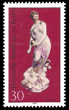 30 Pf Briefmarke: Berliner Porzellan