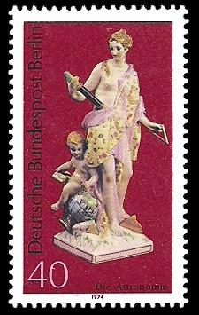 40 Pf Briefmarke: Berliner Porzellan