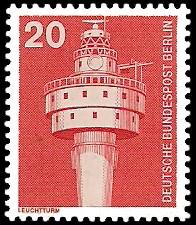 20 Pf Briefmarke: Industrie und Technik