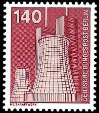 140 Pf Briefmarke: Industrie und Technik