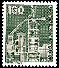 160 Pf Briefmarke: Industrie und Technik