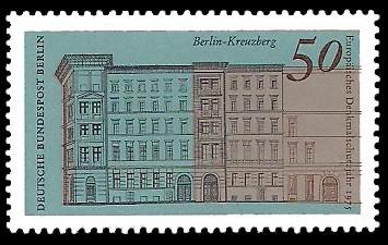 50 Pf Briefmarke: Europäisches Denkmalschutzjahr 1975