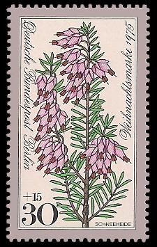 30 + 15 Pf Briefmarke: Weihnachtsmarke 1975