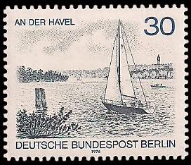 30 Pf Briefmarke: Berliner Landschaft