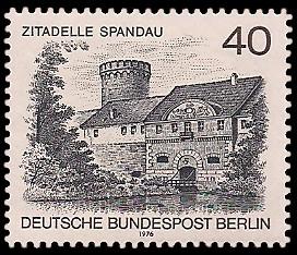 40 Pf Briefmarke: Berliner Landschaft